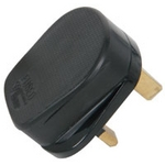 rubber uk mains plug