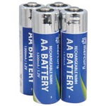 AA 1300mA NiMH rechargeable batteries