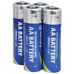 AA 2800mA NiMH rechargeable batteries