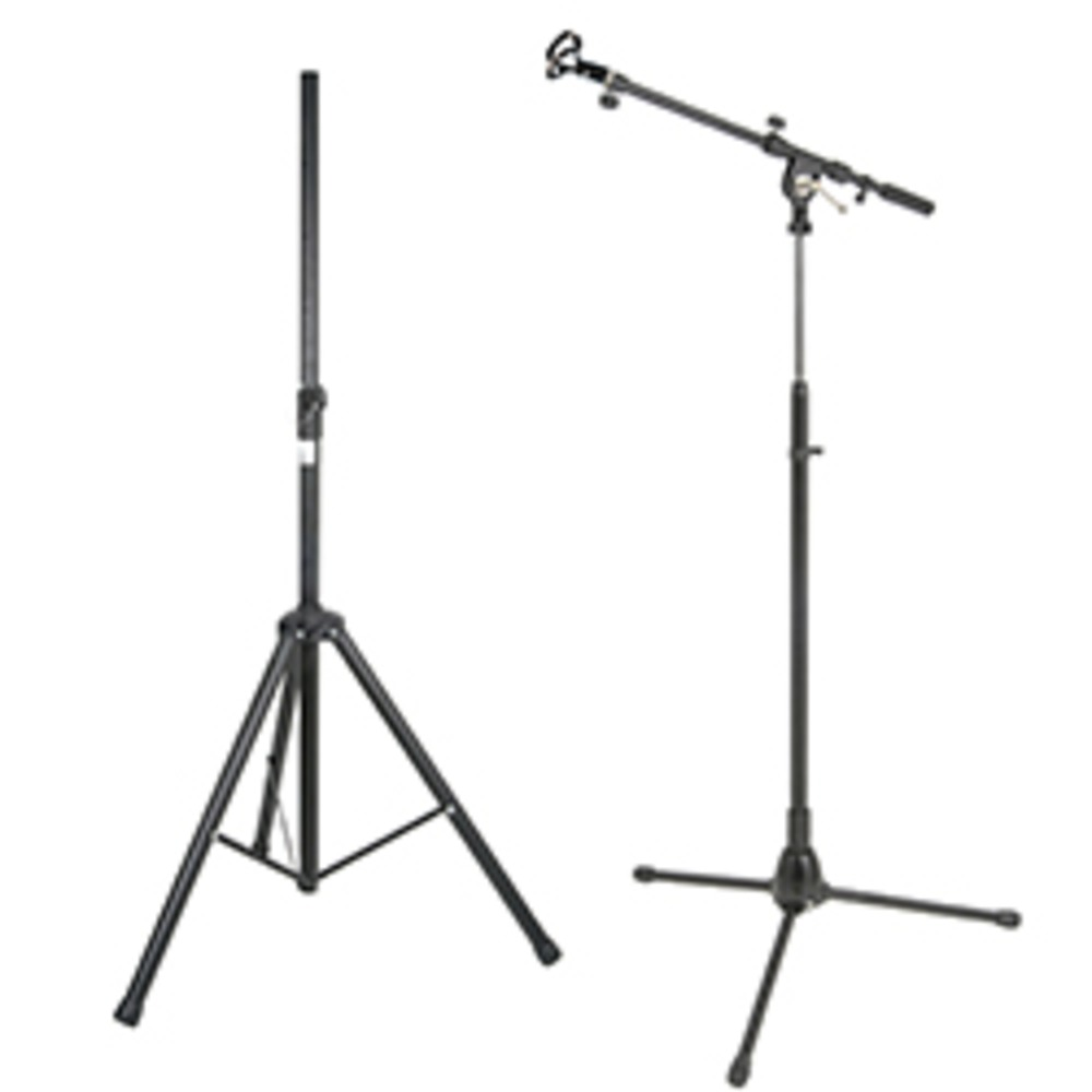 SoundRanger Compact4 stand & Handheld Radio Mic stand set