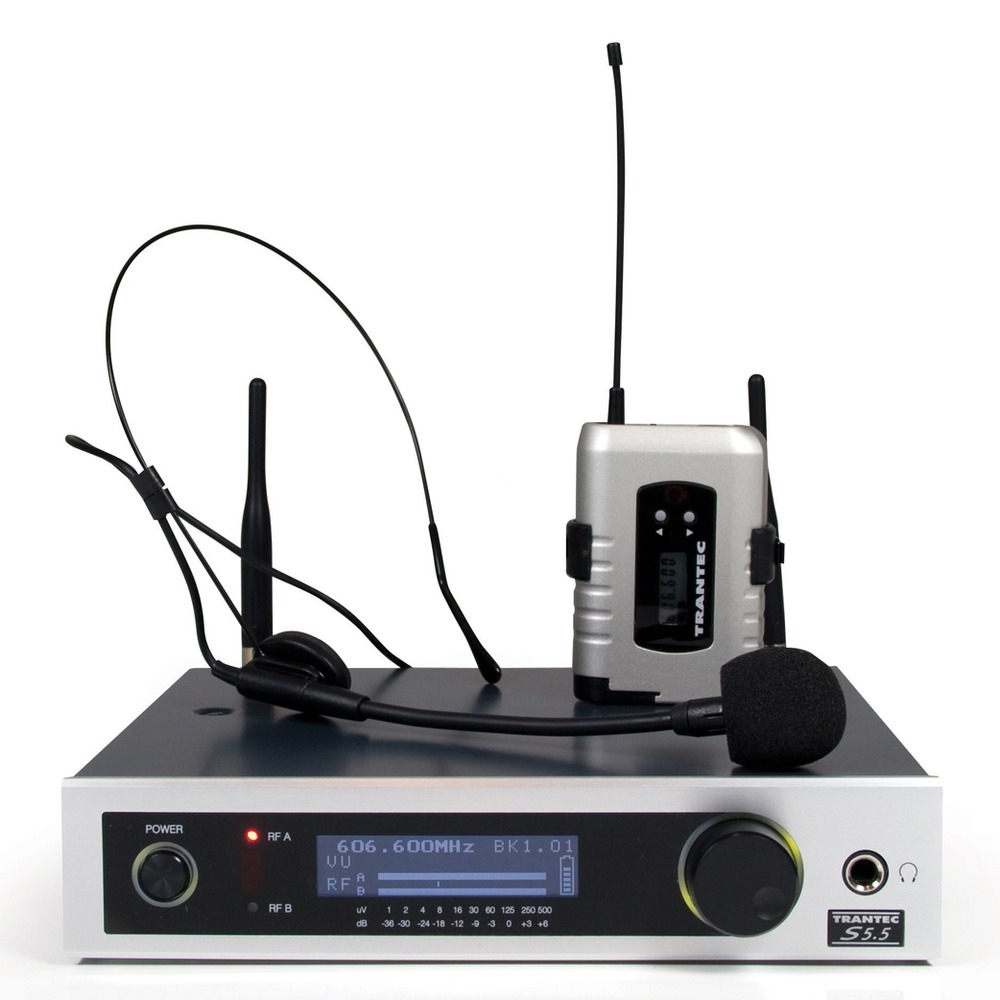 Trantec S5.5A Active Use X33 Radio Microphone System