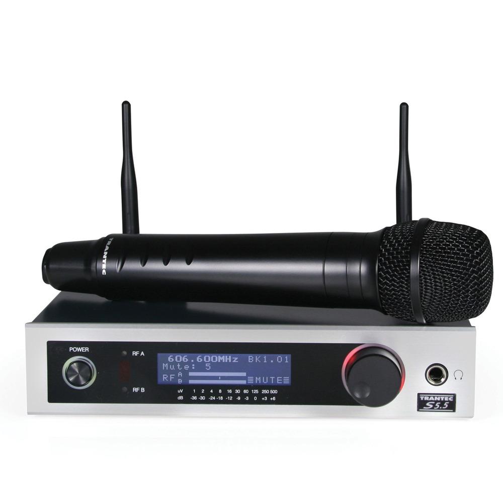 Trantec S5.5HD Handheld Radio Microphone System
