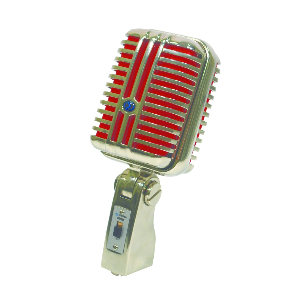 Alctron Retro Dynamic Microphone with red foam