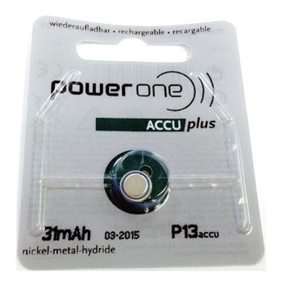 Power One Accu Plus Size 312 Rechargeable Hearing Aid ...