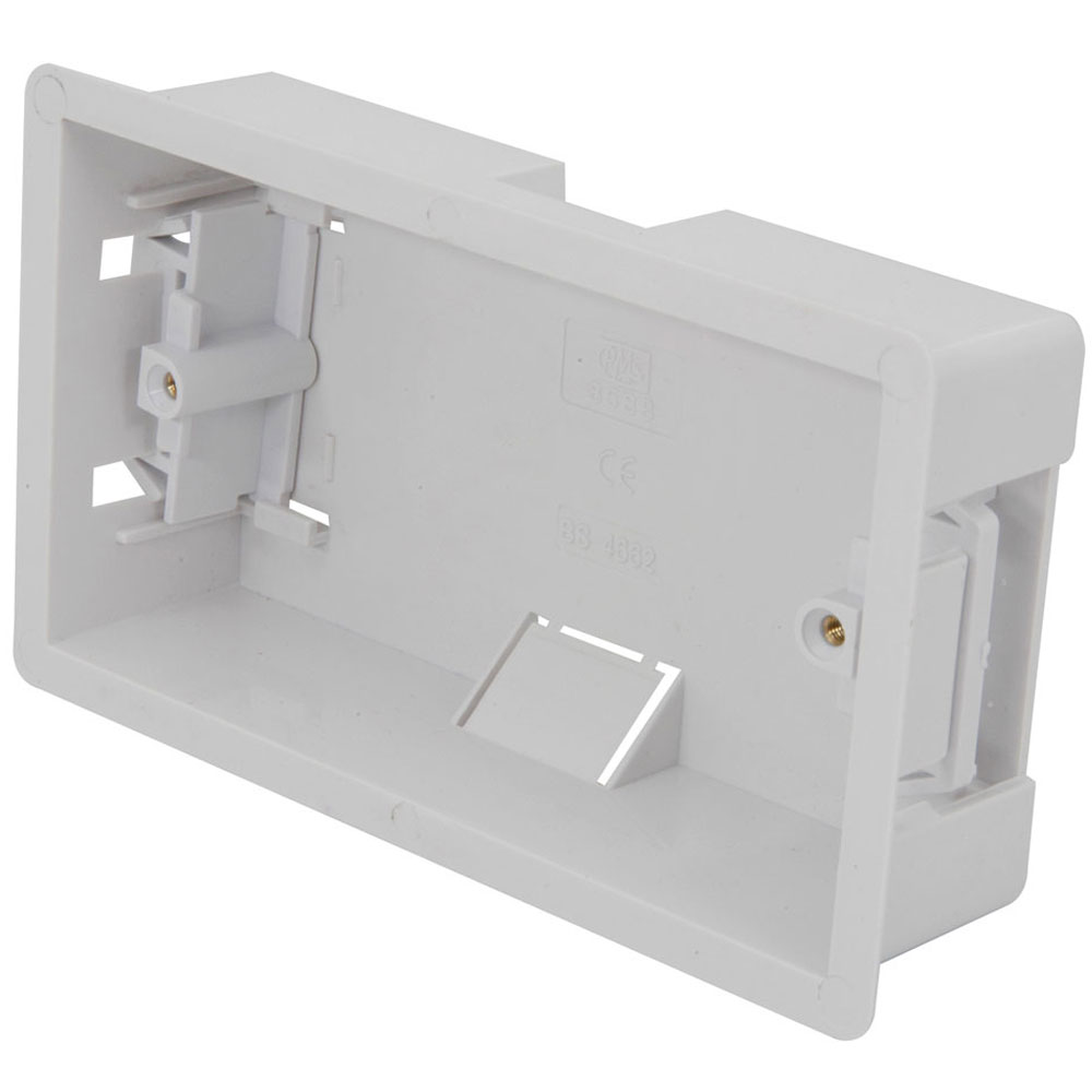 Double dry ling box, flush mount
