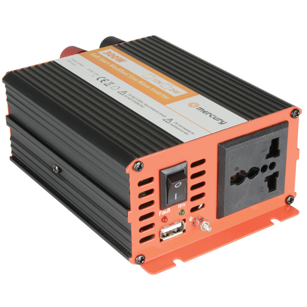 12V DC to 230V ac 300W Softstart Modified Sine Wave Power Inverter