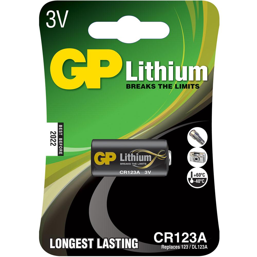 CR123A Lithium Photo cell