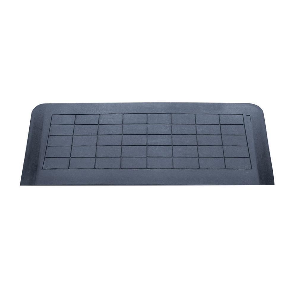 Easy edge threshold rubber ramp 25 x 1070 x 205 mm for Simple edge