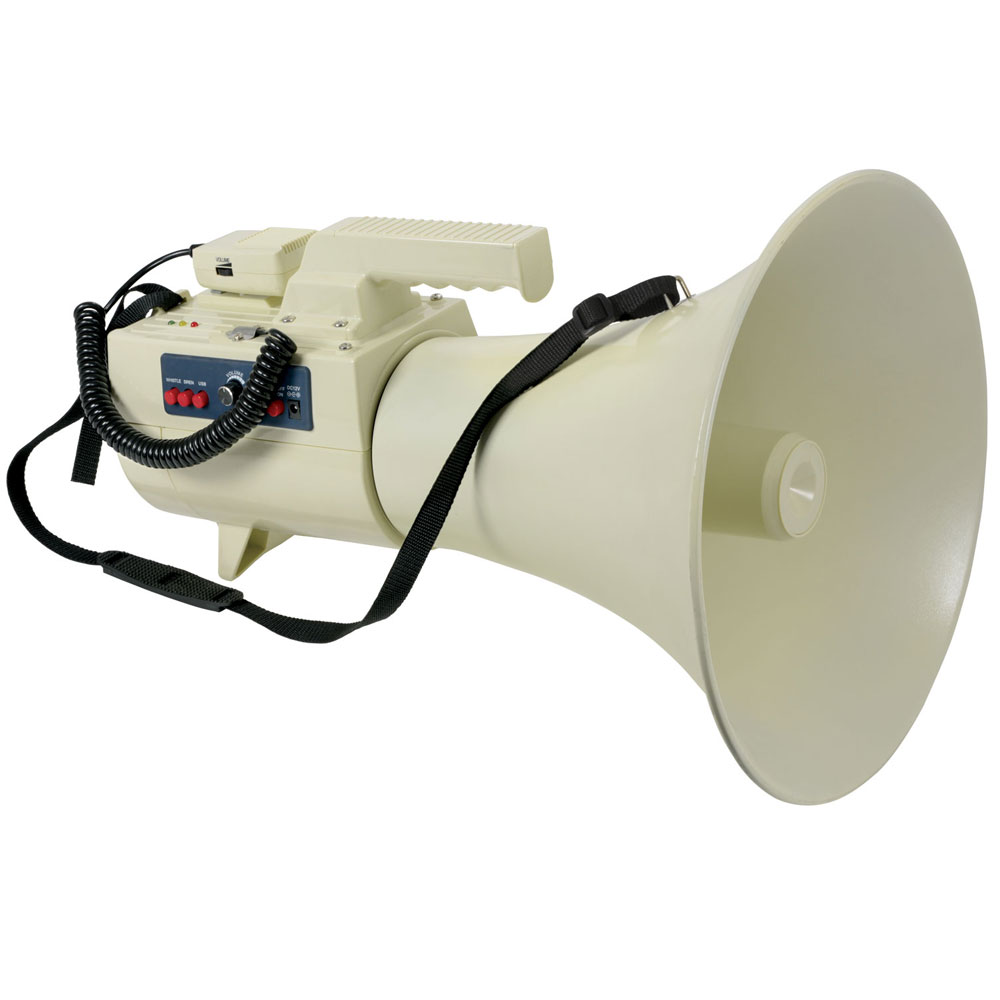 50W Megaphone with USB/SD player