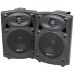 High performance 2-way stereo speakers system with built-in amplifier.