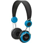 Blue Classroom headphones with in-line microphone