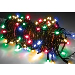 Multicolour outdoor battery powered 80 LED light string with timer