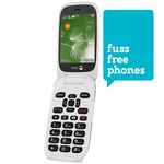 Ex demonstration Doro 6520 mobile with 1 Month Fuss Free Phones SIM Package plus 1 Month FREE