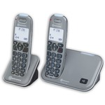 Amplicomms PowerTel 1702 Cordless Telephones Twin Pack