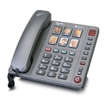 Amplicomms PowerTel 92 Big Button Amplified Corded Photo Phone