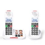 Swissvoice Xtra 2155 Loud Cordless DECT duo Twin Pack with answering machine