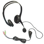 Geemarc CLA3 hands free headset for use with mobile phones, smart phones, computers and landline phones. Hearing Aid Compatible....