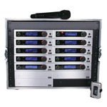 Trantec S5.5 Racked'n'Ready with antenna kit & 10 radio mics