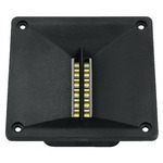Ribbon tweeter for PA and Hi-Fi, magnetostatic speaker with waveguide - 80Wmax, 40Wrms, 6 Ohm