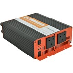 DC to AC Vehicle Power Inverter - 230V ac power (1500W) and 1A USB power from a 24v DC battery