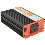 DC to AC Vehicle Power Inverter - 230V ac power (600W) and 1A USB power from a 24v DC truck battery for equipment with inductive loads, voltage sensitive devices or audio equipment