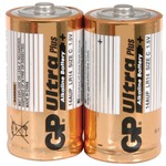 C alkaline batteries - GP Ultra - pack of 2
