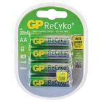 2000mA AA size gp® recyko+ NiMh rechargeable batteries