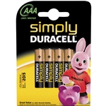 simply duracell alkaline batteries