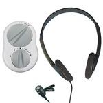 Crescendo 60/2 assistive listener system with headphones