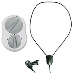 Crescendo 60/5 assistive listener system with neck loop