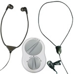 Crescendo 60/8 assistive listener with Headset and Neck Loop