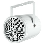 100V line weatherproof 10W PA wall and ceiling speaker IP44 rating - 180 diameter x 270 mm length
