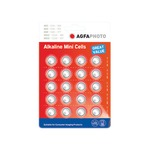 AgfaPhoto Alkaline Power button cells, 5 Types (4 of each) AG1/364/G1A - AG3/392/G3A - AG4/377/G4A - AG12/386/G12A - AG13/357/G13A