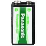 Panasonic 9V/170mAh NiMH Rechargeable Battery