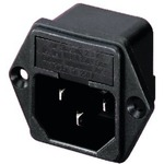 IEC Fused Chassis/Panel Mounting Plug