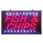 Super bright led sign with static and flash mode for text and static or chase mode for the surrounding blue leds. indoor use only.