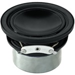 Miniature Hi-Fi full range speaker with highly efficient neodymium drive system - 30W MAX, 15W RMS, 8 Ohm