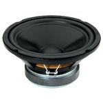Hi-Fi subwoofer with aluminium diecast basket - 2 x 150Wmax, 2 x 100Wrms, 2 x 8 Ohm