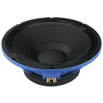 "Professional 38cm (15"") PA subwoofer, ultra-stable due to double centering spiders - 1,500W MAX, 500W RMS, 8 Ohm"