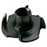 M5 drive-in nut for 5mm diameter M5 screw ideal for speaker mounting in wood, flake board and MDF.