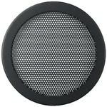 Decorative speaker grill with fine perforation - 140mm outside diameter
