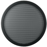 Decorative speaker grill with fine perforation - 322mm outside diameter