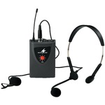 TXA-100HSE Multifrequency pocket transmitter c/w clip & headmic for TXA110/120