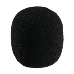 Black Microphone windshield for microphones with dia 40-50mm