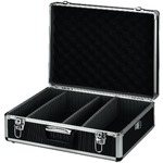 Universal carry case - 3 partitions, several combinations possible