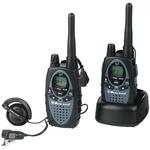 Pair of dual-band walkie talkie transceivers