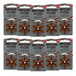 Rayovac Extra Advanced Pack of 60 size 312 Hearing Aid Batteries