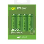 GP Recyko+ Rechargeable Batteries 2600 AA (Card of 4)