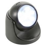 Black Battery LED Motion Sensor Light