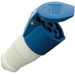 Blue CEE 16A Line Socket